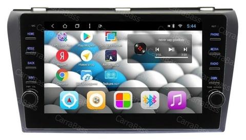 Головное устройство Mazda 3/Axela(03-08) Android 8.1 2/32GB модель CB 1034T8