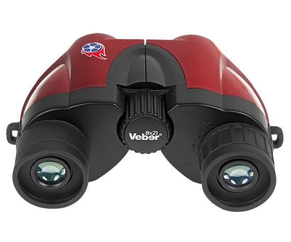 Бинокль Veber 8х21 (Рубин) - многослойное просветляющее покрытие