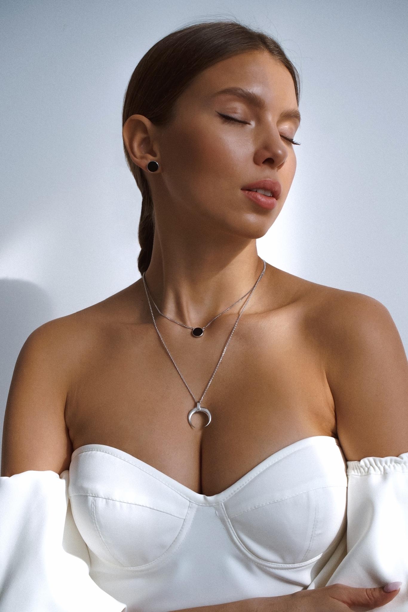 Серебряная подвеска-оберег