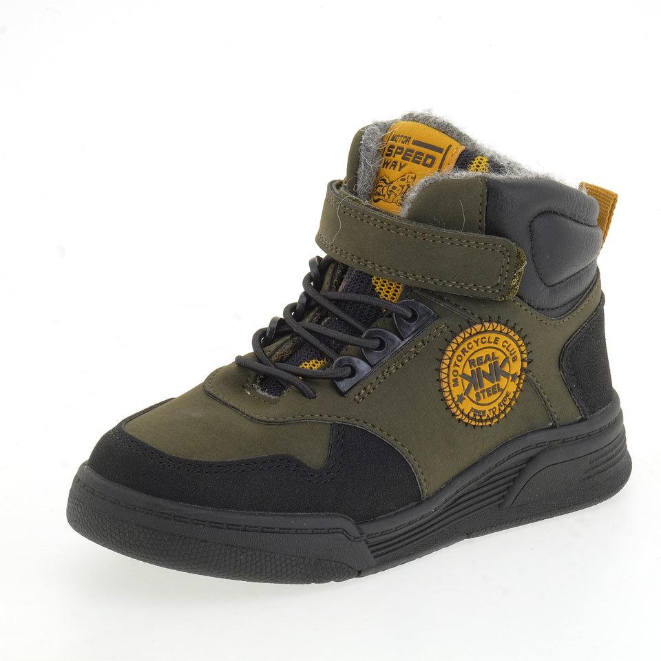 Ботинки KENKA _ FOS_293-16 зеленый