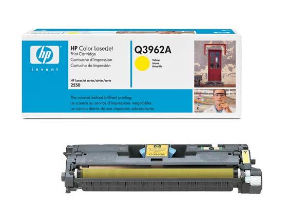 Q3962A картридж HP CLJ 2550/2820/2840 (O) , Y, 4K