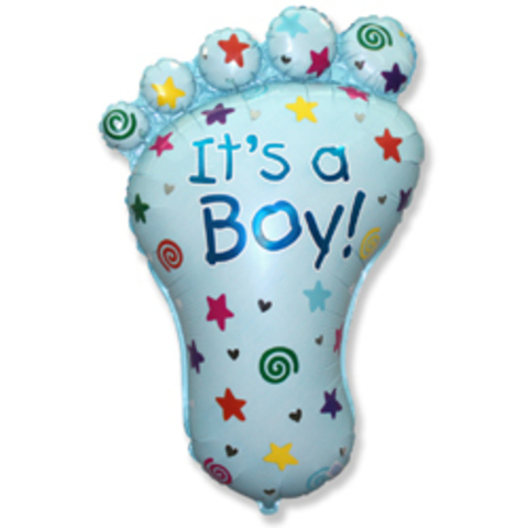 Шарик пяточка мальчик It's a Boy