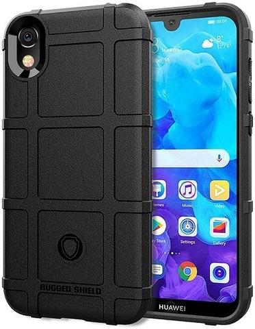 Чехол для Huawei Y5 2019 (Honor 8S) цвет Black (черный), серия Armor от Caseport