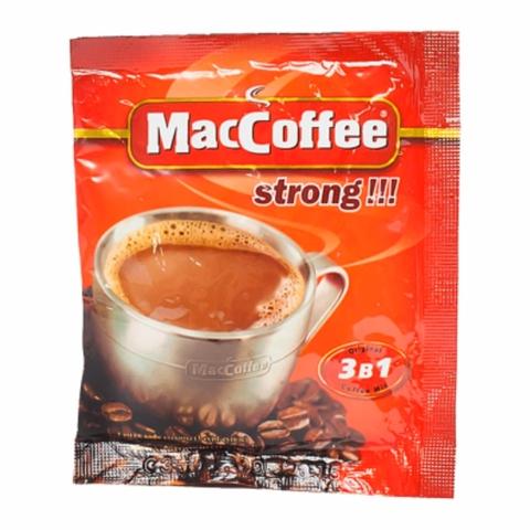 Кофе MacCofee 3 в 1 Strong 20 гр СИНГАПУР