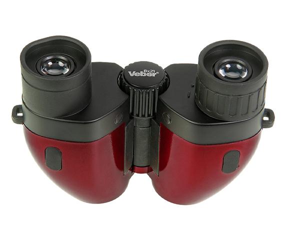 Бинокль Veber 8х21 (Рубин) - регулируемое межзрачковое расстояние