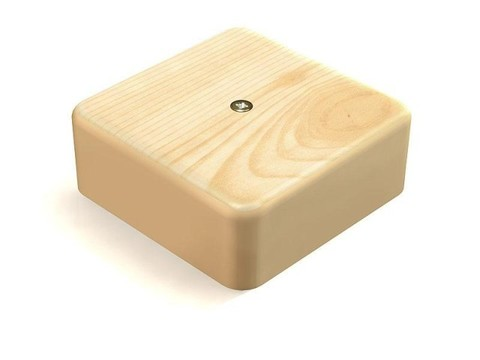 Коробка распаячная КР 100х100х29 ОП сосна IP40 TDM