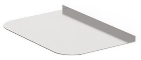 Лист предтопочный Нерж. зерк. (AISI 430/0,5мм) 400х600мм