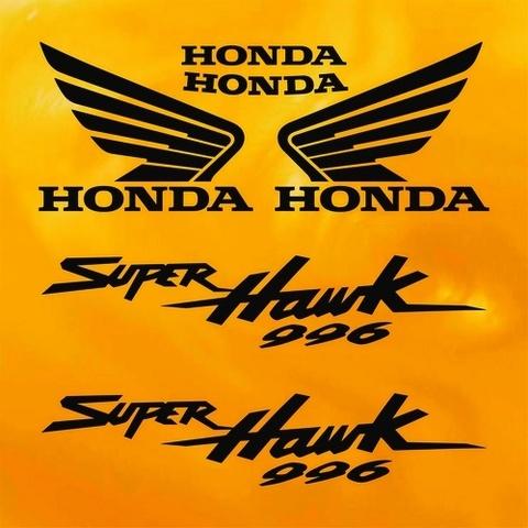Набор виниловых наклеек на мотоцикл HONDA VTR 1000F SUPERHAWK 2000,2001