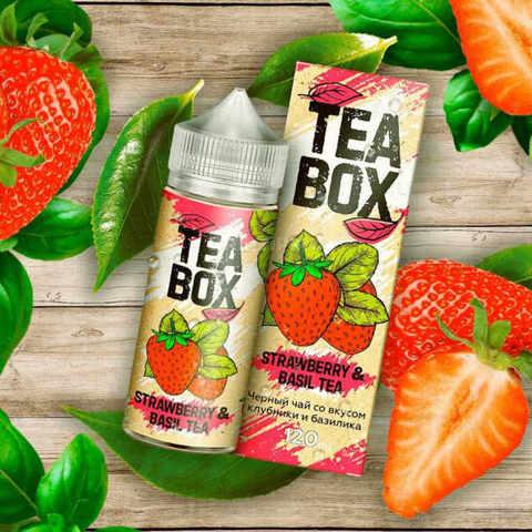 Жидкость Tea Box 120 мл Strawberry & Basil Tea