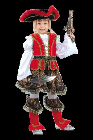 Карнавальный костюм Разбойница детская