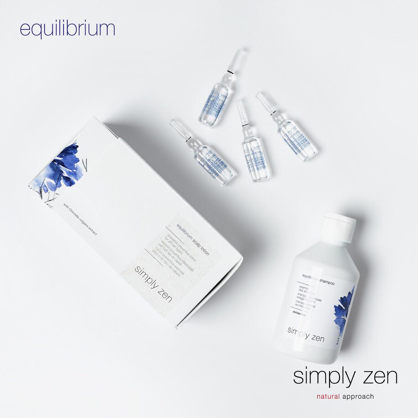Профилактический лосьон equilibrium scalp lotion simply zen