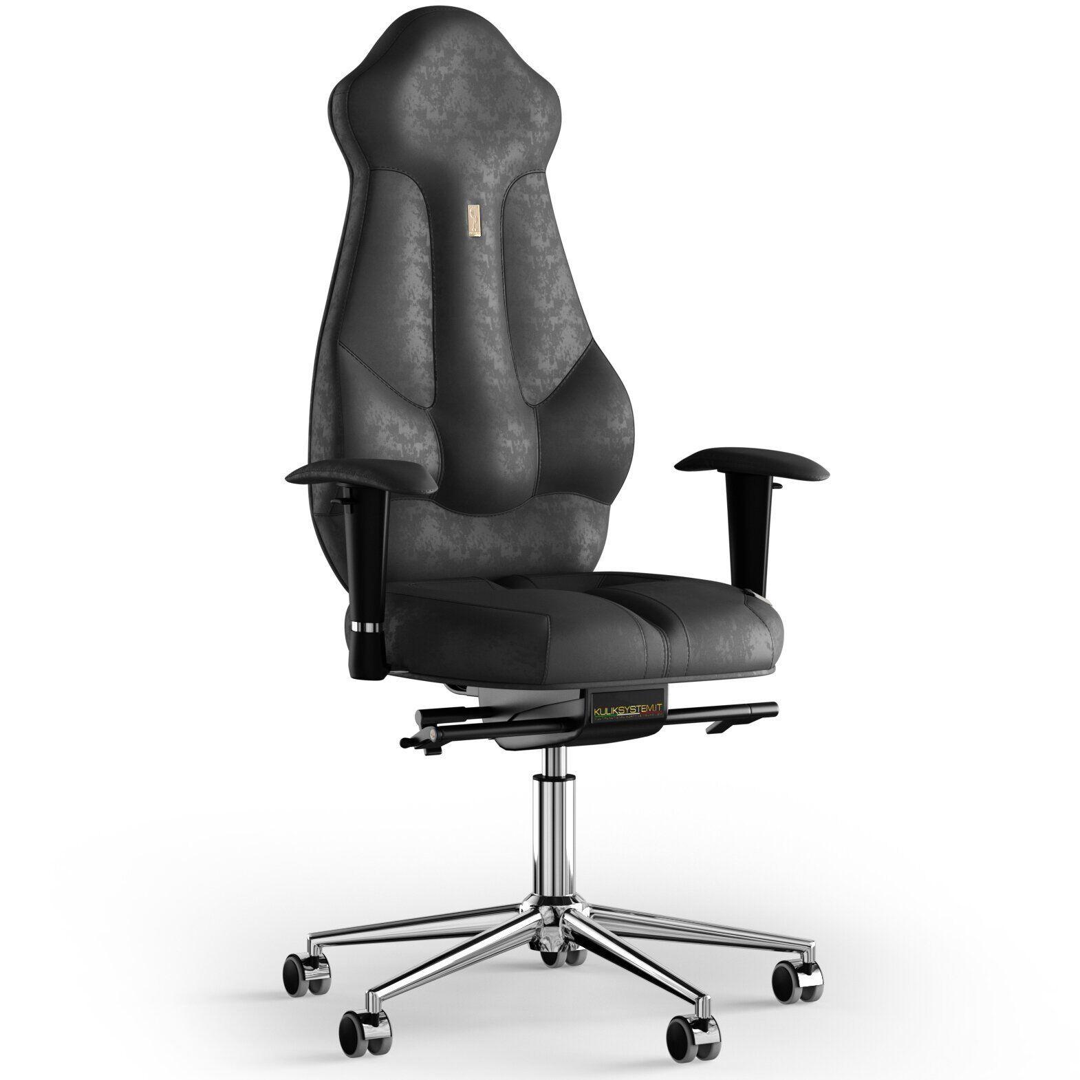 Кресло KULIK SYSTEM IMPERIAL Антара с подголовником без строчки