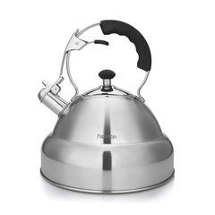 Чайник со свистком для кипячения воды ALBA 4,5л (нерж.сталь)