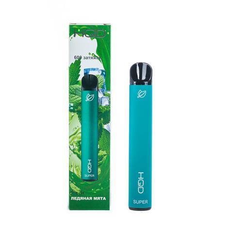Одноразовая электронная сигарета HQD SUPER Ice Mint (Мята)
