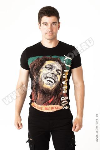 Футболка Боб Марли (арт. Ф-12)
