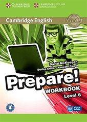 Cambridge English Prepare! Level 6 Workbook wit...