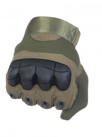 Тактические перчатки полнопалые Factory Pilot Gloves - олива