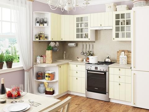 Кухня Прованс-2 белый, ваниль