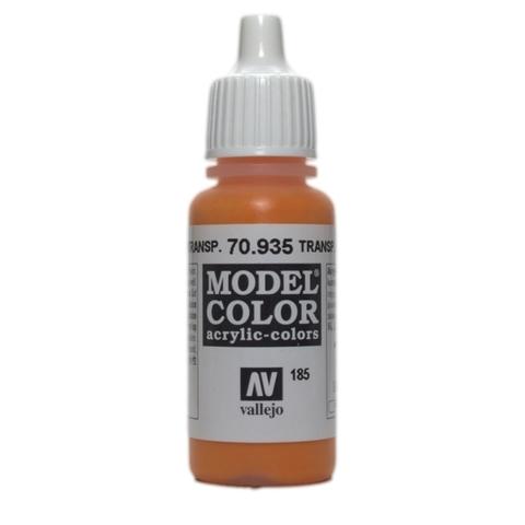 Model Color Transparent Orange 17 ml.