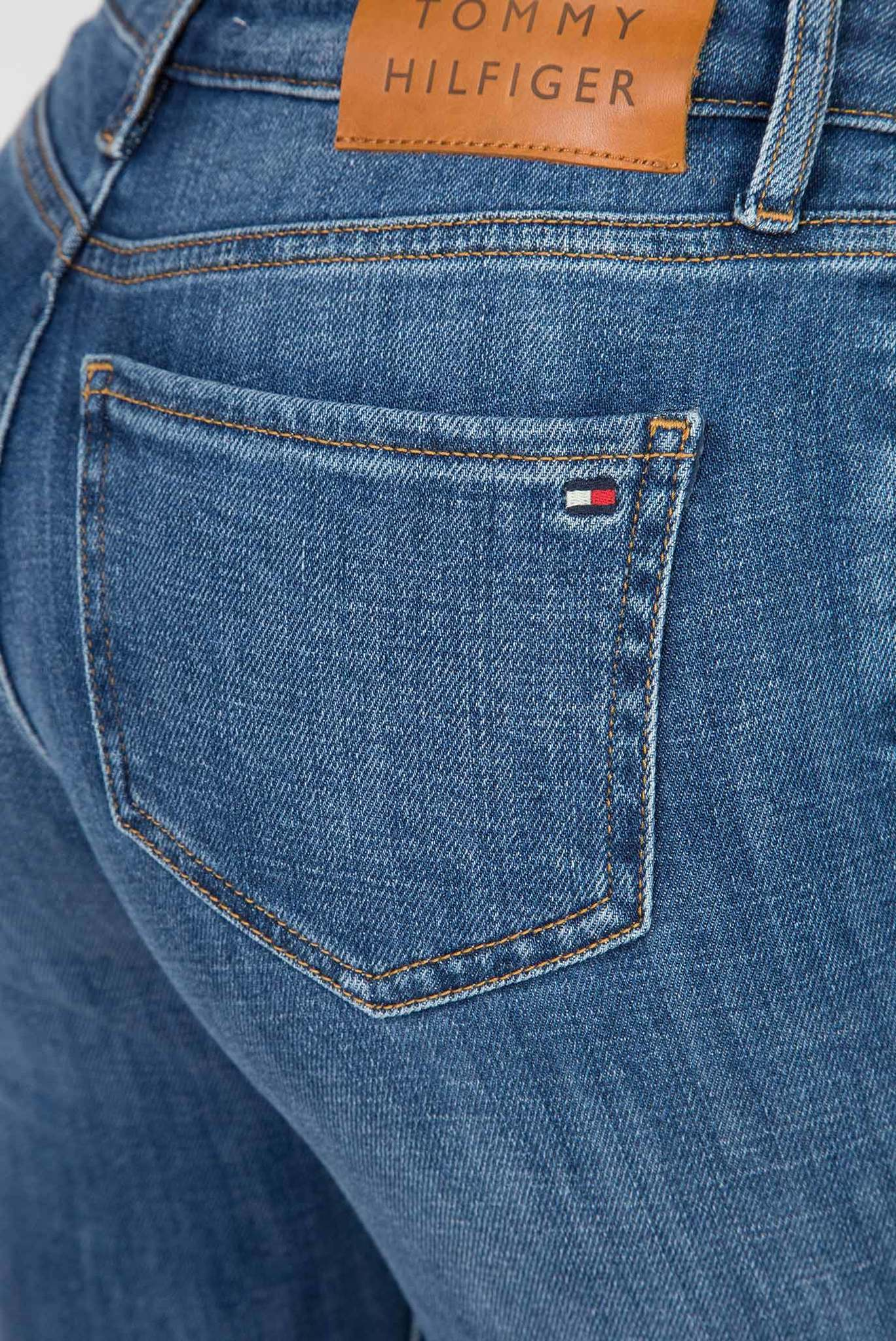 Женские голубые джинсы ROME STRAIGHT Tommy Hilfiger