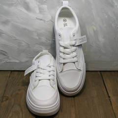 Модные кроссовки белые женские El Passo 820 All White.