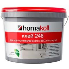 Клей Homakoll 248 для полукоммерческого ПВХ-линолеума 14 кг