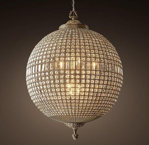 Подвесной светильник копия 19th C. Casbah Crystal Chandelier 36