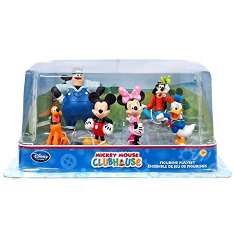 Набор из 6 фигурок с Микки Маусом