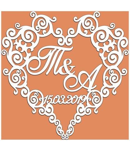 Герб свадебный №4 - 881371