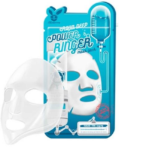 Тканевая маска Aqua (Увлажняющая) Deep Power Ringer Mask Pack