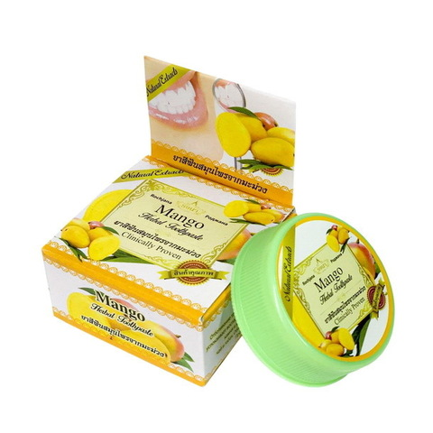 Зубная паста с экстрактом Манго Роджана Rochjana Herbal Mango extract 30 гр.