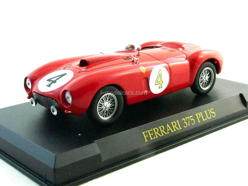 Model Cars Ferrari 375 Plus 4 1954 Red 1 43 Eaglemoss Ferrari Collection 57