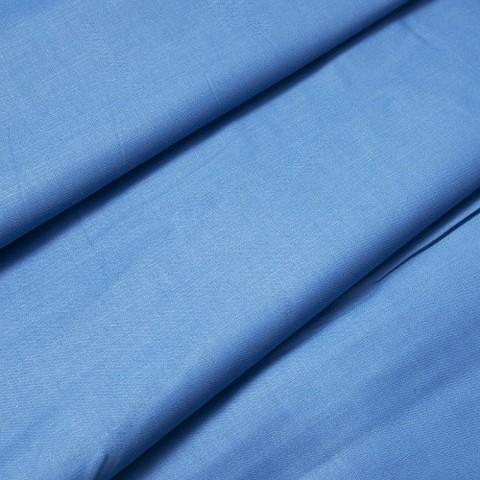 Сатин гладкокрашеный 220 см 1749 цвет синий