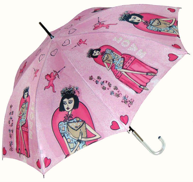 Зонт-трость Perletti Chic 21194-2 Histoire d'Amour