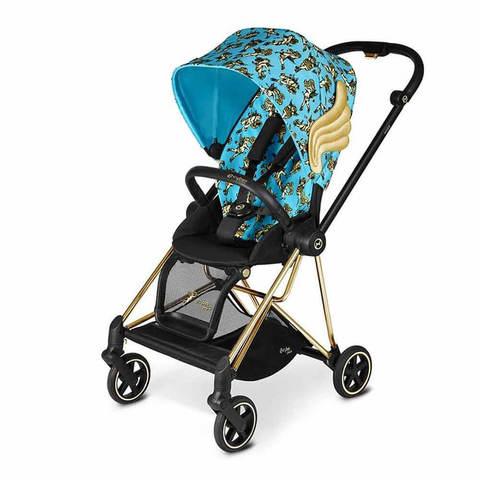 Прогулочная коляска Cybex Mios FE JS Cherubs Blue