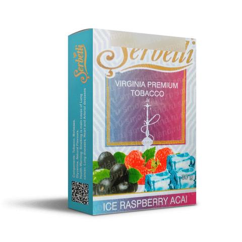 Табак Serbetli Ice Acai Raspberry (Асаи Малина Лед) 50 г