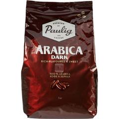 Кофе в зернах Paulig Arabica Dark Roast 100% арабика 1 кг