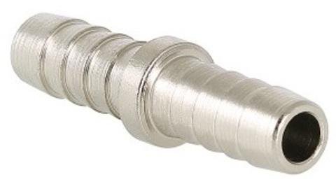 Valtec 18 мм соединитель для шланга латунный никелированный VTr.657.N.1818