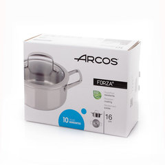 Кастрюля ARCOS Forza 16 см (1,2л) арт. 712000 ARCOS