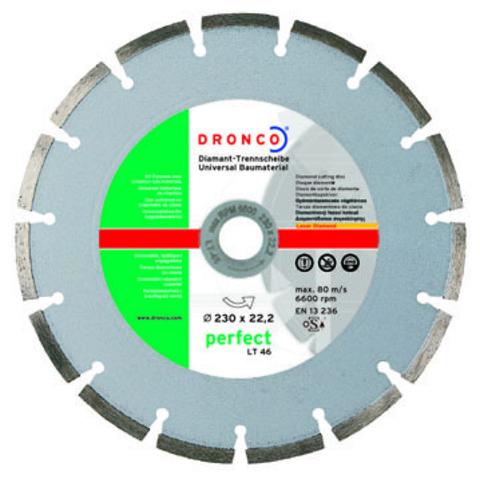 Алмазный сегментный диск Dronco LT-46 150 мм