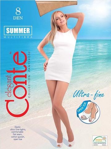 Женские колготки Summer 8 Open Toe Conte