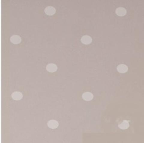 Пленка цветная Горошины 70см х 7м Цвет:белый