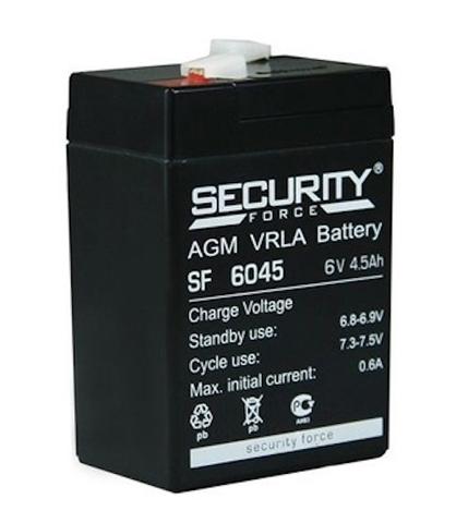 Аккумулятор для Электромобиля Security Force 6V/4,5Ah
