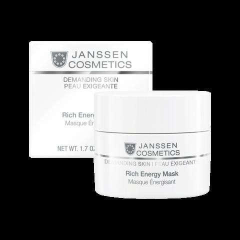JANSSEN | Энергонасыщающая регенерирующая маска / Rich Energy Mask, (50 мл)
