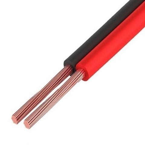 Кабель ШВПМ 2х0,35мм красно-черный акустический