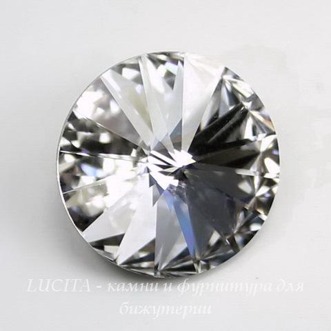 1122 Rivoli Ювелирные стразы Сваровски Crystal (16 мм) ()