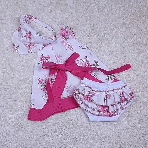 Пляжный комплект для девочки Пироженко
