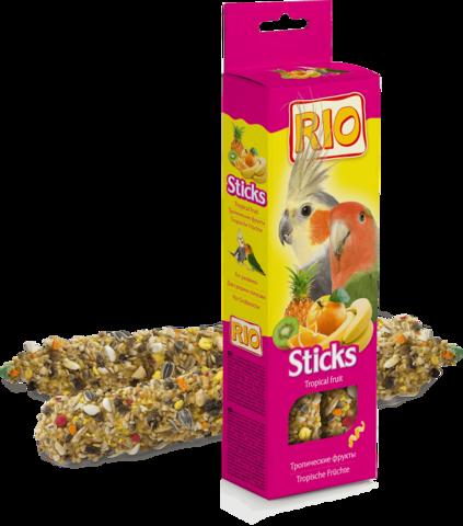 RIO - Палочки для средних попугаев с тропическими фруктами