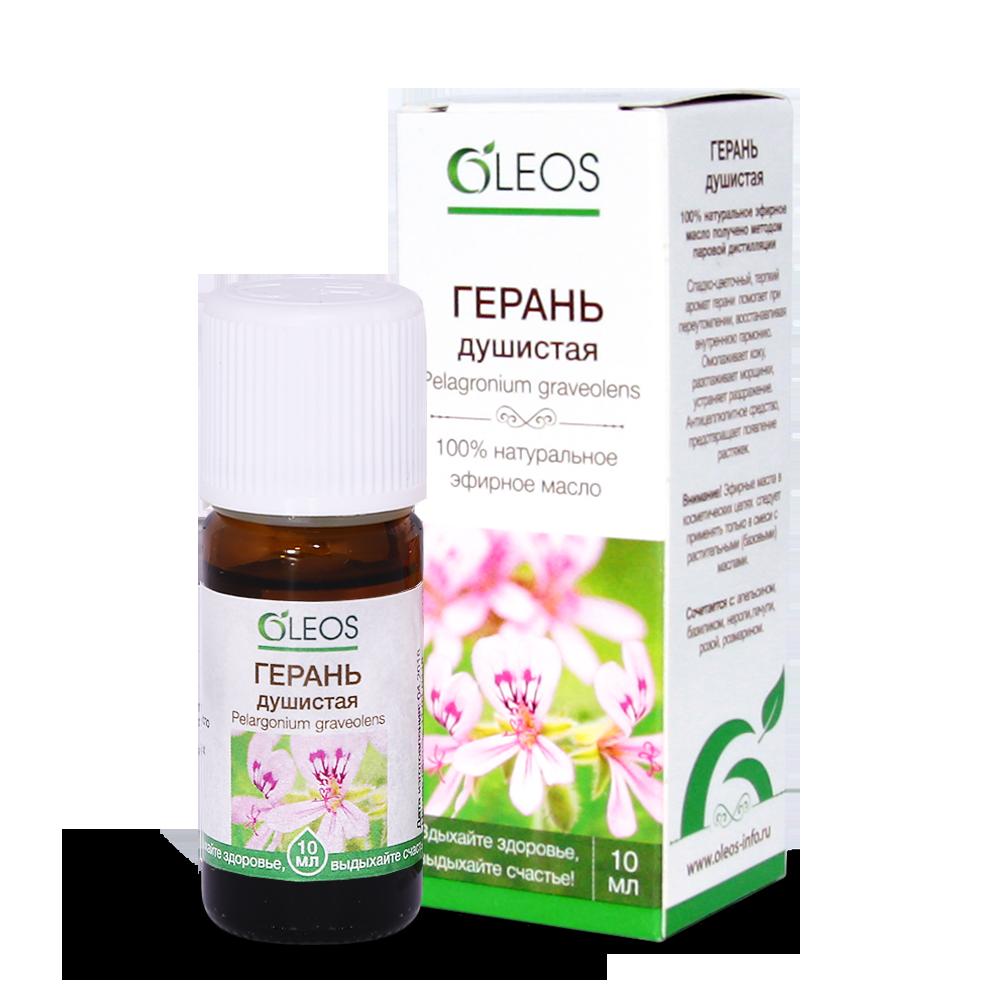 Эфирное масло Герань Oleos