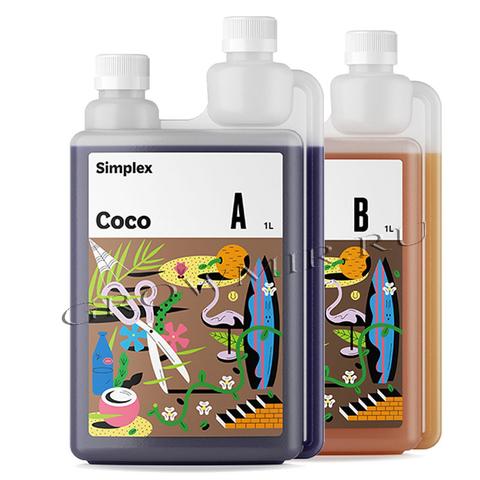 Удобрение Simplex Coco A+B 1 л